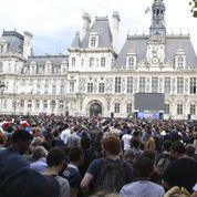Mondial 2014 : Ecran géant à Paris, les supporters le trouvent trop petit