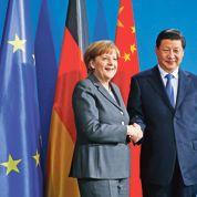 Merkel pousse les pions du «made in Germany» en Chine