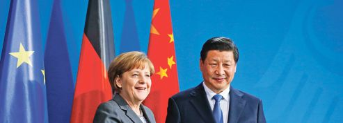 Merkel pousse les pions du «made in Germany» en Chine
