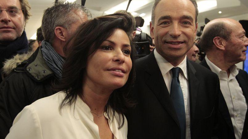 Jean-François Copé et son épouse Nadia Copé.