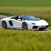 Lamborghini Aventador Roadster, un taureau à l'air libre