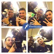 Sakho, fan de ses partenaires, publie des selfies avec tous les Bleus