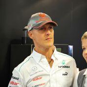La femme de Michael Schumacher évoque une «amélioration»