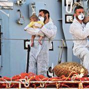 L'Italie désespérément seule face au déferlement de réfugiés