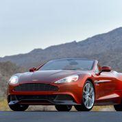 Aston Martin Vanquish Volante : la préférée de Bond
