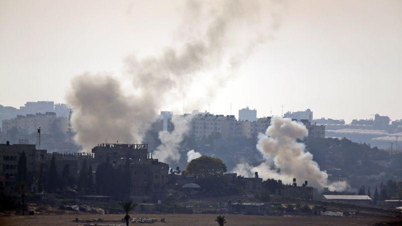 Israël a effectué plus de 200 raids samedi dans la bande de Gaza, tandis que 53 roquettes ont été tirées vers le territoire israélien, selon les chiffres de l'armée israélienne.
