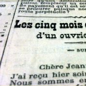 Le soldat Albert : «Je mets la main à la plume pour t'envoyer un petit bonjour» (1915)