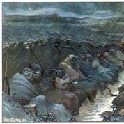 Le soldat Albert : « On dirait que l'on veut nous apprendre à nager » (1915)