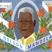 Nelson Mandela célébré par un Doodle