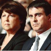 Les critiques publiques d'Aubry sont un coup dur pour Valls