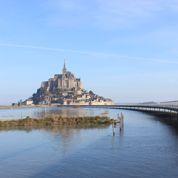 «Sur la passerelle du Mont-Saint-Michel, on marche presque sur l'eau»