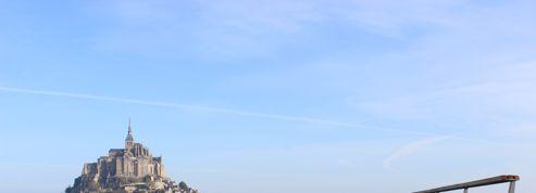 Une passerelle pour le Mont-Saint-Michel...