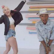 Le nouveau clip de Pharrell avec Miley Cyrus