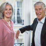 Tatiana et Joël deRosnay: le même style
