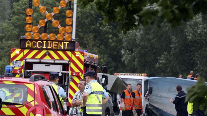 Accident de minibusdans l'Aube : la vitesse et l'alcool hors de cause