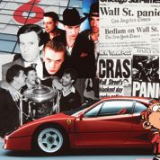 1987, la Ferrari F40: les grandes orgues d'une décennie clinquante