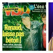 Renaud dans un état préoccupant en une de VSD