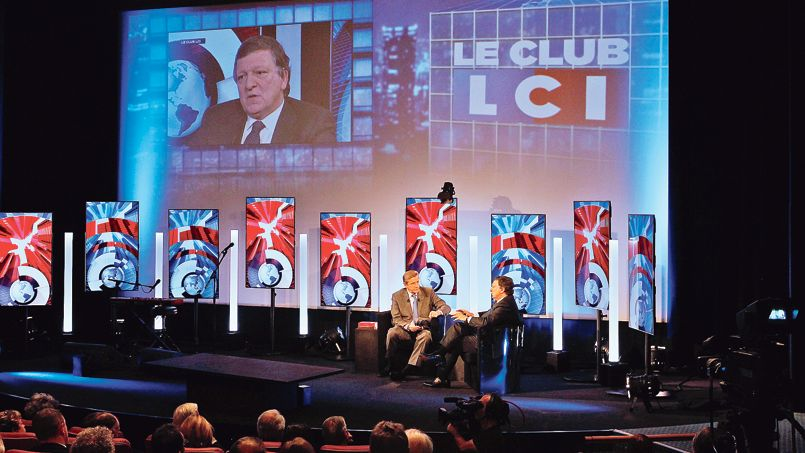 Le Club LCI anim� Eric Revel