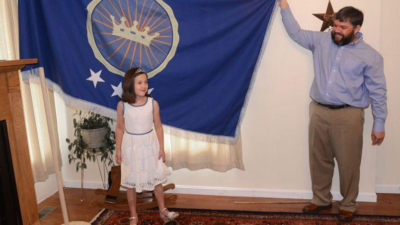 Comment un père a fait de sa fille une vraie princesse