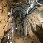 Dans les entrailles d'un tunnel entre Gaza et Israël