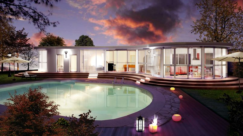 archionline casse les prix des maisons d architecte. Black Bedroom Furniture Sets. Home Design Ideas