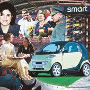 1998, la Smart City coupé : l'élégance en petit format