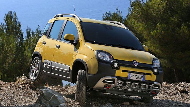 Fiat Panda Cross, la Panda des baroudeurs