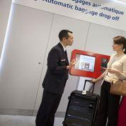 Air France enregistre les bagages en ville