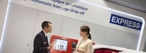 Air France propose d'enregistrer les bagages en ville