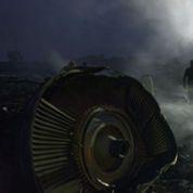 MH17 : fortes explosions près du site du crash