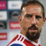 Franck Ribéry, une barbe pour un nouveau look