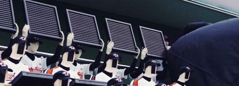 En Corée, des robots au secours d'un club en mal de supporteurs