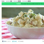 La salade de patates récolte finalement 55.500$ sur Kickstarter