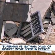 Batman v Superman : tournage destructeur à Detroit
