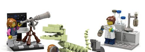 Tancé par une petite fille, Lego sort un kit de femmes scientifiques