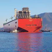 Prelude ,une île artificielle pour exploiter du gaz au large de l'Australie