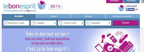 Sur lebonesprit.fr, vendre, c'est donner