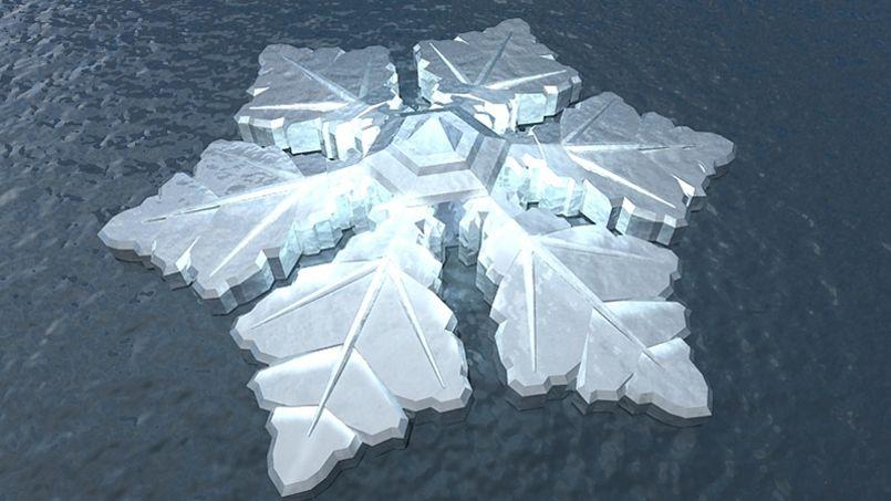 Crédits photo: Developer Dutch Docklands / Waterstudio