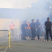 Match Bastia-OM : 44 policiers et gendarmes blessés