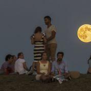 Une éblouissante «super lune»
