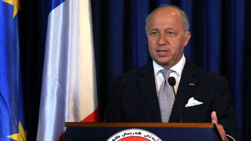 Laurent Fabius presse l'Union européenne de coordonner son action «d'urgence» en Irak