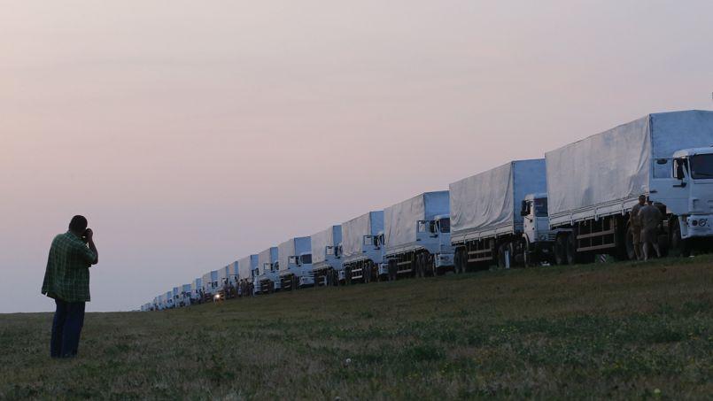 L'étrange caravane humanitaire russe en Ukraine