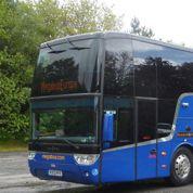 Un bus low-cost laisse 70 passagers sur une aire d'autoroute