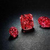 Des diamants rouges rarissimes mis aux enchères