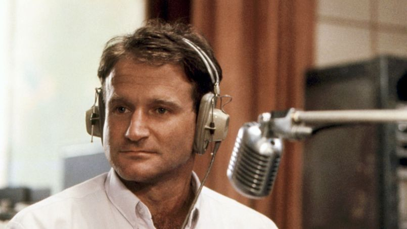 L'acteur Robin Williams dans <i>Good Morning Vietnam</i>.