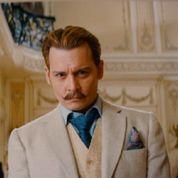 Mortdecai : Johnny Depp exhibe sa moustache