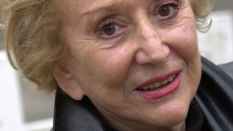 Ménie Grégoire en 2003.