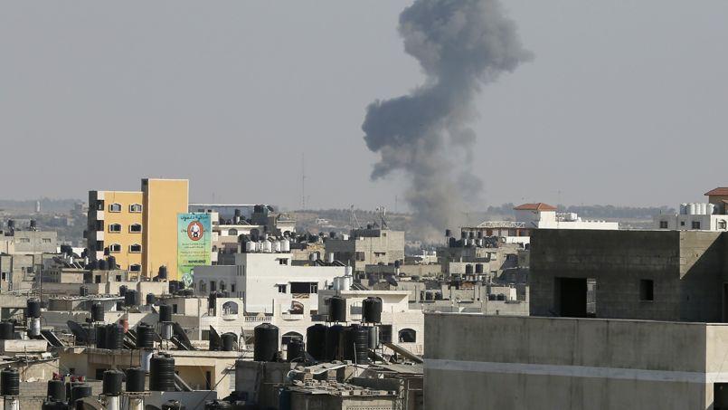Les frappes israéliennes sur la bande de Gaza.