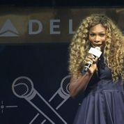 Serena Williams fait le show lors d'un karaoké