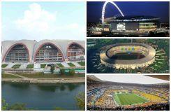 Où se trouvent les 10 plus grands stades de football de la planète ?
